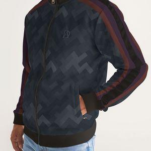 DeMarcus Alexan Stripe Blocks Stripe Jacket for Sale in Alexandria, VA