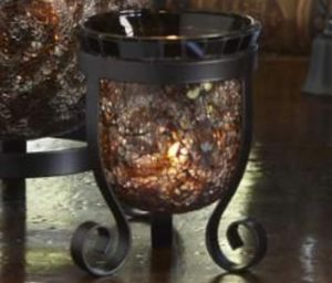 Partylite amaretto swirl tealight candle holders. 2 for 15. Firm for Sale in Glendale, AZ