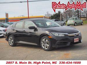 2016 Honda Civic Sedan for Sale in High Point, NC