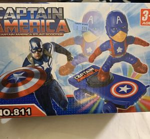 Captain America scooter stunt toy for Sale in Queens, NY