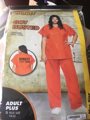 Inmate Halloween costume for Sale in Goodlettsville, TN