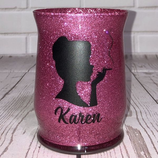 Personalized Makeup Brush Holders, $10 Each