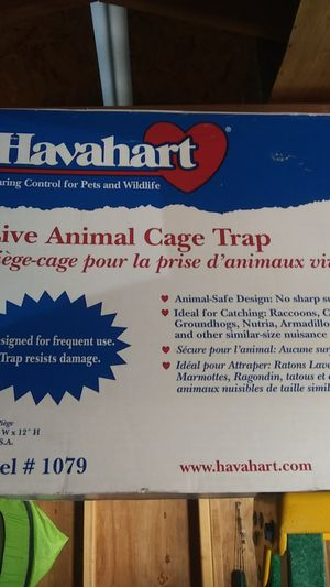 Have a heart live animal cage trap model 107 9 for Sale in Payson, AZ