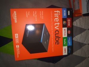 Fire Tv Cube for Sale in Tacoma, WA