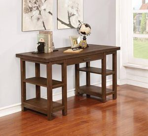 Rustic Desk with Open Shelves ONLY $299- SALE! Best Prices! for Sale in Sacramento, CA
