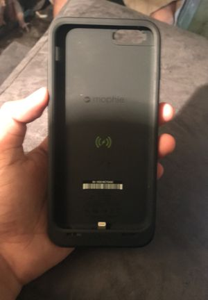Mophie for iPhone 6 Plus and iPhone 6s Plus battery and wireless charging case for Sale in OLD RVR-WNFRE, TX