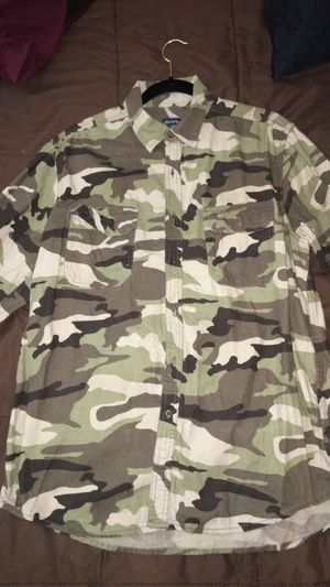 Faded Glory Camo Shirt (Size L) for Sale in Springfield, VA