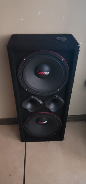 "Chuchero 10"" Ds18 pro speakers for Sale in Avon Park, FL"