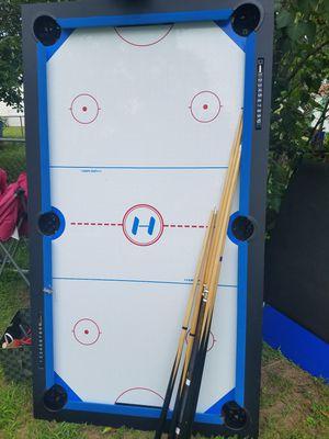 pool table/ air hockey for Sale in Burlington Township, NJ