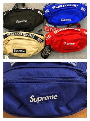 SUPREME WAIST BAG / FANNY PACK / POUCH / OVER SHOULDER / SLING BAG for Sale in New York, NY