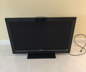 """SONY 40"""" FLAT SCREEN TV • Remote Control and Instruction Manual for Sale in FL, US"""