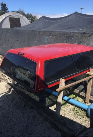 Camper shell for a Chevy truck 90 to 99 possibly 2000 or 2001 for Sale in Watsonville, CA