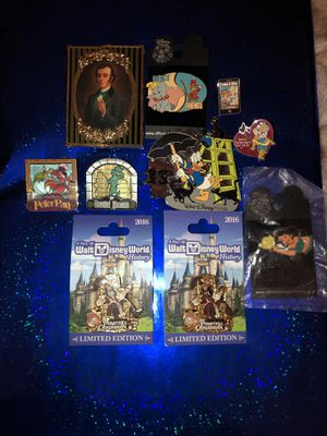 Selling Assorted Disney Pins for Sale in Lafayette Hill, PA