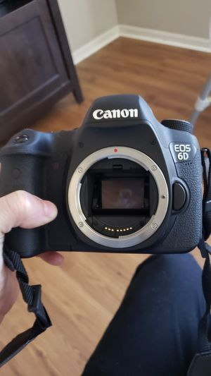 Canon 6d with lenses for Sale in Pasadena, TX
