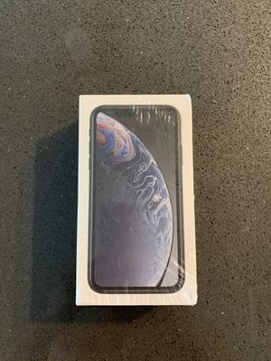 iPhone XR, 256GB, black, brand new! For ATT or cricket. for Sale in Harrisburg, PA