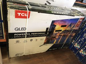 TCL Roku 65 inch 4K TV QLED 6 series 65r625 for Sale in Glendale, CA