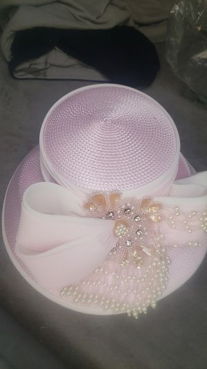 Brand new pink church hat with tags for Sale in Suffolk, VA