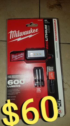 Milwaukee 600 lumens light for Sale in Los Angeles, CA