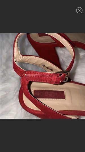 Red suede heels for Sale in Nashville, TN