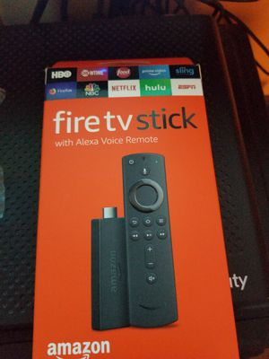 Fire TV stick with alexia for Sale in Hillcrest Heights, MD