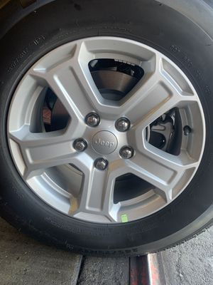 """Jeep Wheels 17"""" brand new stock Jeep wheels only no tires for Sale in Carson, CA"""