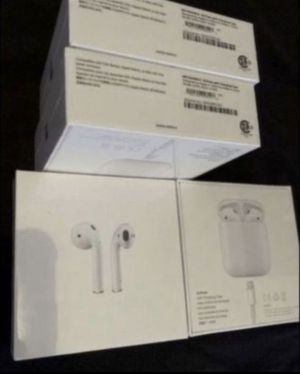 AirPods new 2nd generation 100% authentic new $145 each for sale or trade for iPhone unlocked I can meet and deliver today for Sale in Fremont, CA