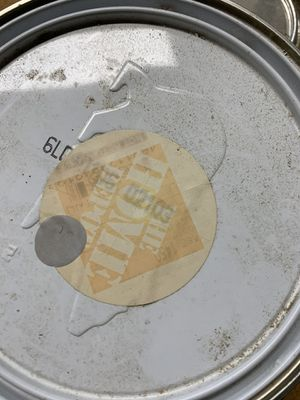 (Free) 1 gallon beer marque. Unfortunately label got wet so I can't see exact color code. Med gray. Flat I believe. for Sale in Vienna, VA