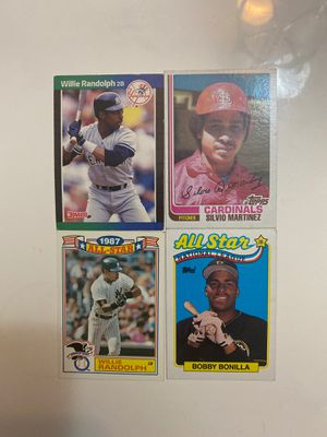 Willie Randolph Silvio Martinez Bobby BonillaTruly great players in Hall of Famer's for Sale in Brooklyn, NY