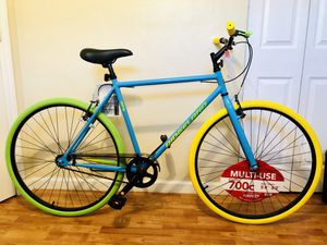 Bike - Men's Bike Women's Bicycle 700c Colorful 🇧🇷 Bike for Sale in HALNDLE BCH, FL