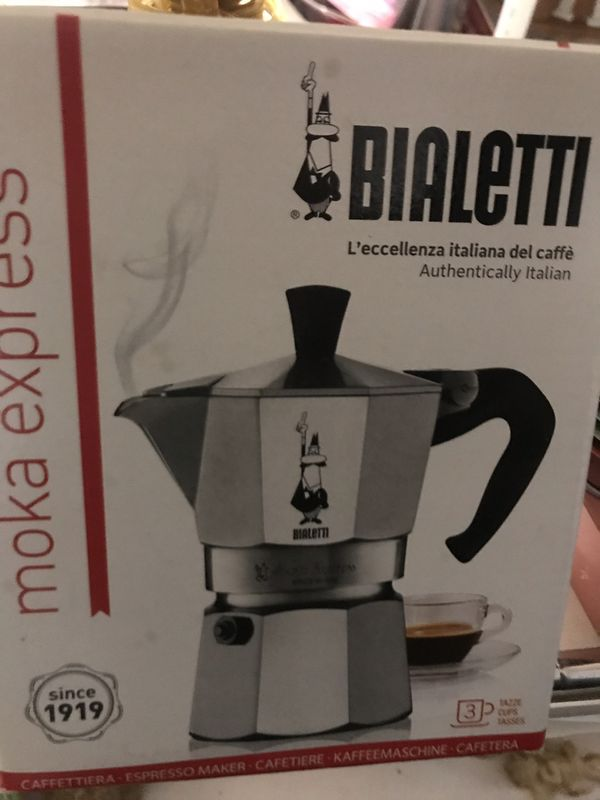 Bialetti Moka Express 3 Cup Stovetop Coffee Maker - $8.Walgreens Oakland Canada rd wolfchase Kirby whitten and stage once a week-cp
