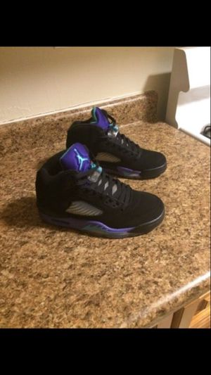 Air Jordan 5 grape size 8 new never worn for Sale in Bronx, NY