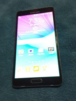 Galaxy Note 4 32gb clean Unlock Original used phone for Sale in Miami Beach, FL