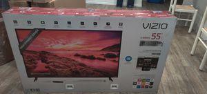 VIZIO 4K SMART TV 55 INCH HIGH QUALITY TV NETFLIX VIZIO HOME THEATER for Sale in Anaheim, CA