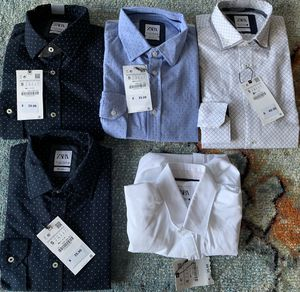 SELL TODAY - Lot of 5 - Men's BRAND NEW ZARA Shirts sz SMALL for Sale in Queens, NY
