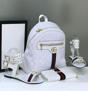 Women Backpack set with Sandal for Sale in Orlando, FL