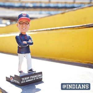 Tito Francona (2) Kipnis (1) Bobbleheads NIB for Sale in Cleveland, OH