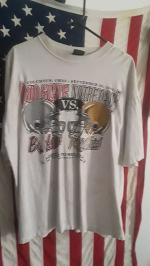 Sept. 30, 1995 Ohio state vs. Notre Dame for Sale in Columbus, OH