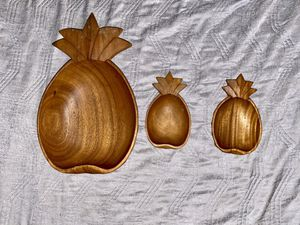 Handcrafted Wooden Pineapple Bowls for Sale in York, PA