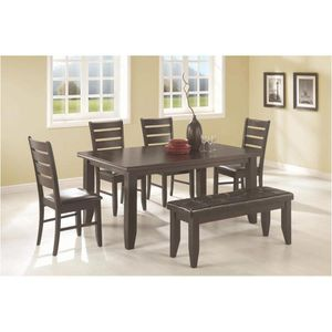 Beautiful 6PCs Dining Set (Table+4Chairs+Bench)🔥🔥🔥 for Sale in Fresno, CA