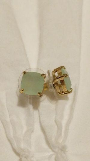 Seafoam green earrings for Sale in San Bernardino, CA
