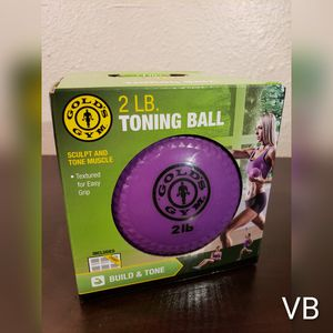 2lb Toning Ball by Golds Gym for Sale in Tampa, FL