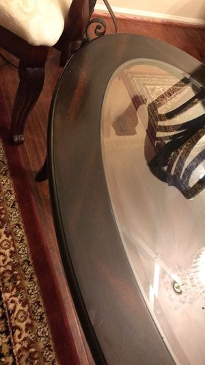 Glass Top Coffee Table with side 2 Tables for Sale in Manassas, VA