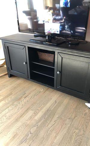 Black TV Console for Sale in Alexandria, VA