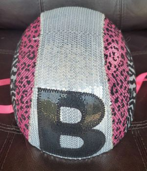 Kids bike helmet with the letter B. SPARKLY for Sale in Morton Grove, IL