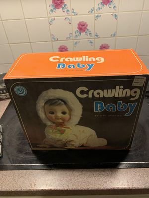 Vintage crawling baby for Sale in Dallas, TX