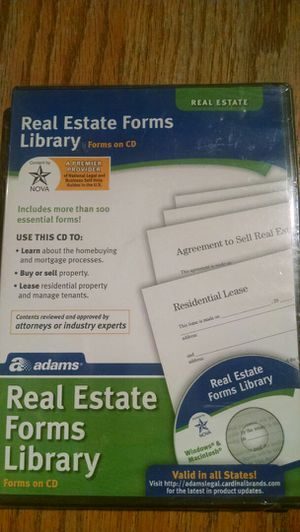 Real Estate Forms Library for Windows & Macintosh for Sale in Edgewater, CO