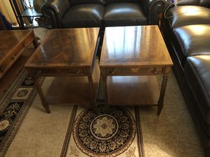 Antique coffee table and 2 end tables for Sale in Washington, DC