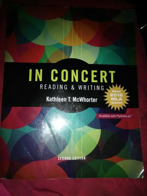 In Concert Reading and Writing Second Edition for Sale in LA, US