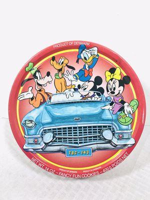 Dansk Biscuit Co. Walt Disney fancy fun cookies Metal tin for Sale in Pawtucket, RI