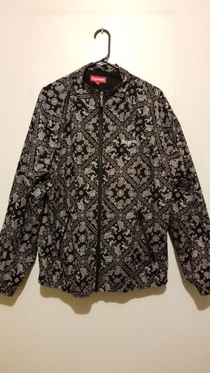 Supreme Bandana Track Jacket(Authentic)XL for Sale in Homestead, PA